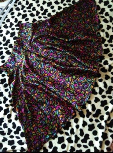 Классная юбочка, натуральный шелк, 42 размер, состояние отличное