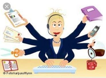 Требуется женщина на регистратуру. в Бишкек