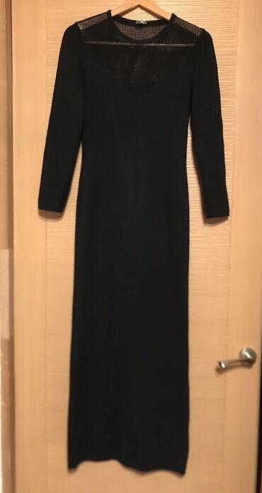 Вечернее Трикотажное платье!Хорошего Качества !!!Размер 46-48!!!