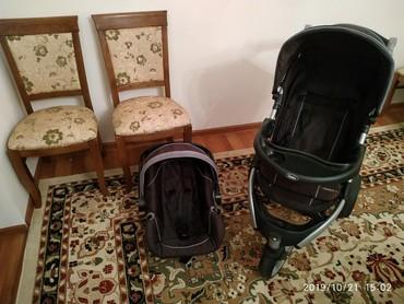 автокресло chicco go one в Кыргызстан: Продаю б/у коляску+автокресло Chelino в идеальном состоянии.Chelino