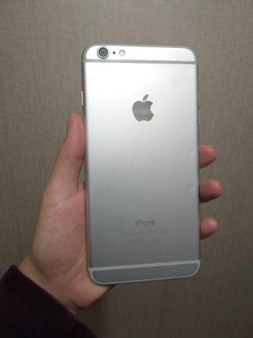 Продаю iphone 6 plus silver 64gb, состояние отличное в Бишкек