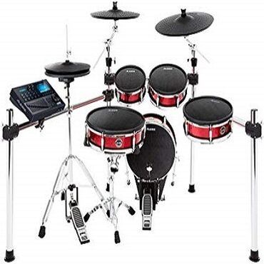 Μουσικά όργανα - Ελλαδα: Alesis STRIKE PRO KIT Electronic drum set 11 pieces