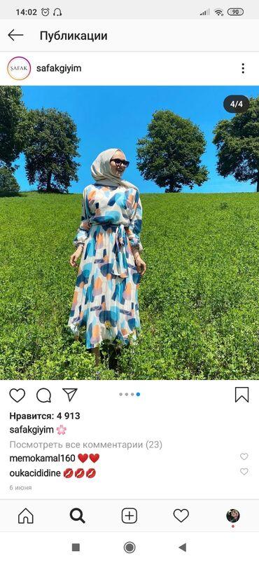 размер-l в Кыргызстан: Продаю платье. Новое. Турция. Размер 46. Заказывала с Турции. Размер