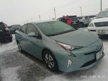 Toyota - Цвет: Серый - Бишкек: Toyota Prius 1.8 л. 2016 | 90000 км