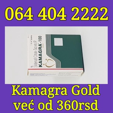 Kamagra Gold tablete za potenciju 100mg - Belgrade
