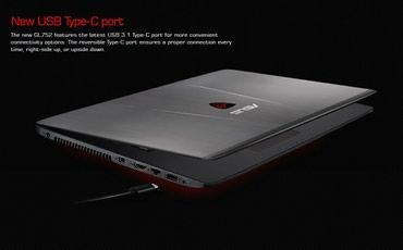 Bakı şəhərində Asus Rog GL752VL (Gamer Edition)