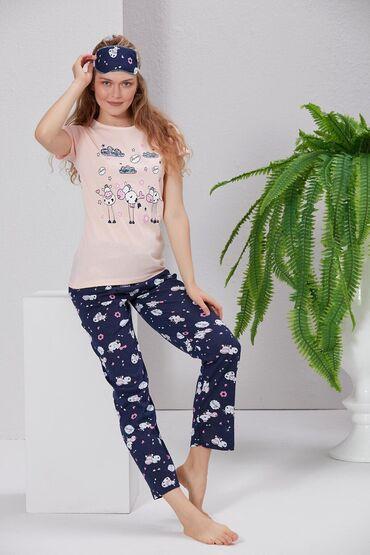 pijama - Azərbaycan: Keyfiyyətli. Tükriyə istehsalı. Pijama dəsti.Bədən - S/MQiymət 20
