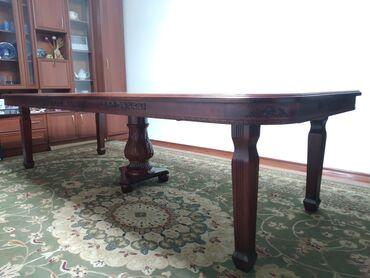 диски бмв 65 стиль в Кыргызстан: Стол размер 3.0 метра на 1.2 метра, удлиняется до 4.0 метров, высота