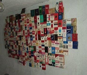 Другие предметы коллекционирования в Кыргызстан: Коллекция сигаретных пачек с 1939года д.н.э