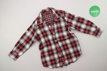 Топы и рубашки - Киев: Дитяча сорочка у клітинку, вік 4-5 р.    Довжина: 48 см Ширина плечей