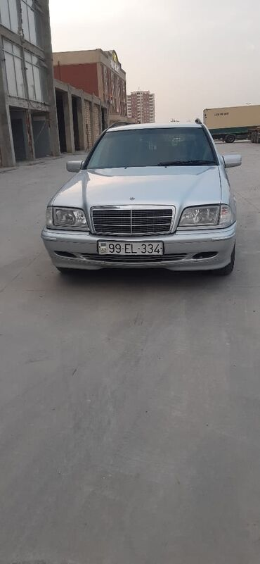 10562 elan   NƏQLIYYAT: Mercedes-Benz C 180 1.8 l. 1999   47252 km