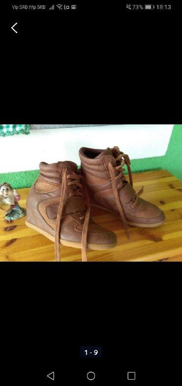 Ženska obuća | Sombor: Cipele sa skrivenom petom, nošene jednom velike mi 39,manji kalup