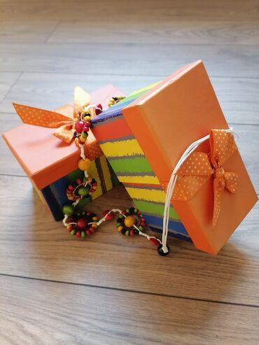 Kućni dekor - Mladenovac: Prelepa ukrasna kutija za nakitPogodna za nakit i cuvanje malih