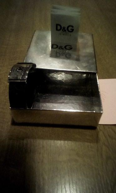 Προσωπικά αντικείμενα - Ελλαδα: Ασημενιο ανδρικο βραχιολιι D&G. αυθεντικο τοδινω αντικαταβολη μονο