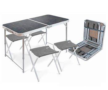 Походный Туристический Мини стол + 4 стулаВнимание! Размеры