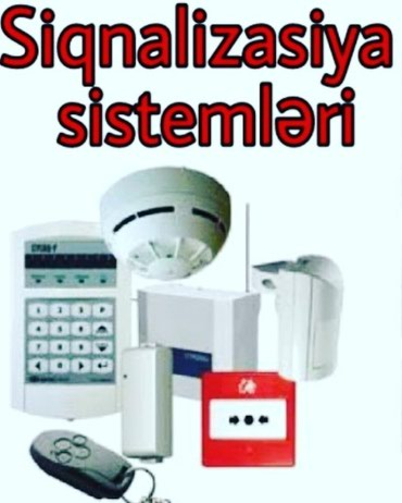 Bakı şəhərində Her növ siqnalizasiya sistemlerinin satışı və