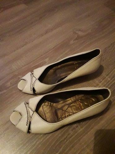 Ženske kožne sandalete NOVE br:37 Prava koza ITALIJANSKE - Novi Pazar