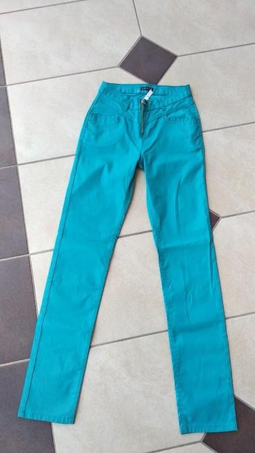 Od skaja - Srbija: Pantalone nove M velicina od skaja