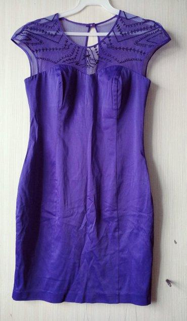 фиолетовое платье в пол в Кыргызстан: Оригинальное красивое платье, модного фиолетового цвета, деликатно