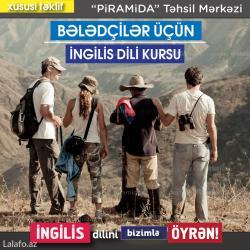 Bakı şəhərində beledciler ucun ingilis dili kursu