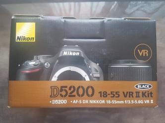 """nikon d5300 - Azərbaycan: Фотоаппарат """"Nikon D VR II Kit Black""""• Əsas göstəricilərBrend"""