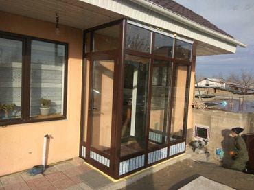 Изготовление алюминиевых окон дверей  в Бишкек