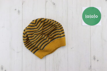 Жіноча в'язана шапка у смужку Mexx   Довжина: 19 см Ширина: 22 см  Мат