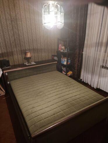 Kreveti - Srbija: Bračni krevet 213x160 očuvan,ojačano žičano jezgro, malo korišćen