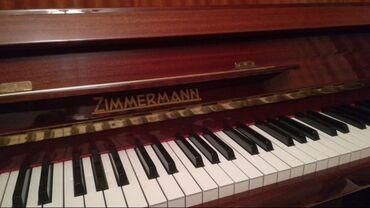 Продаю пианино Zimmermann. Произведено в ГДР.Клавишный механизм