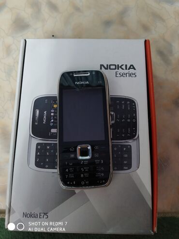 Продаю сотовый телефон Nokia E75 (нерабочий) с коробкой, (раритет), в