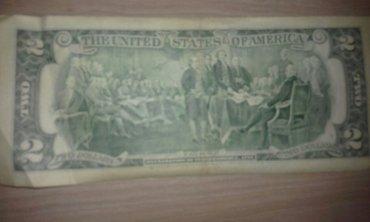 Bakı şəhərində 1995 ci il 2 $ dollar.