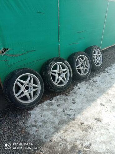 Продаю не дорого летние колеса с дисками R17 215-55+ 1 зимнюю резину