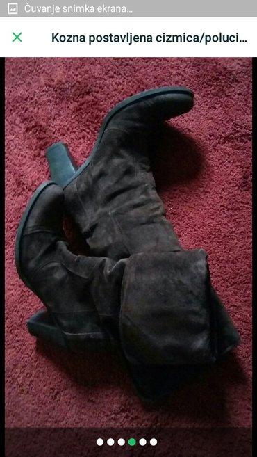 Cizme kozne postavljene 2u1 i cizme i polucizme 38 br snizeno fiksno - Trstenik - slika 4