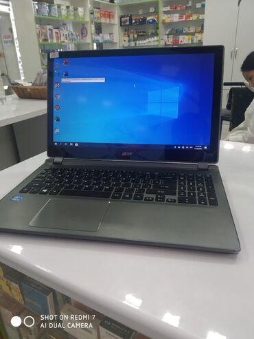 Электроника в Кара-Суу: Ноутбук 4 ядерный Aser core i5 память 500 гб озу 4 гб ноутбук в