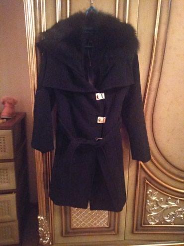 Пальто с натуральным воротником писец в Бишкек