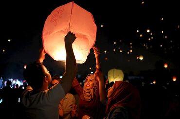 шарик для беременных в Кыргызстан: Бумажные Лампы В Форме Свечи Воздушные ШарыКитайские шарики. Порадуйте