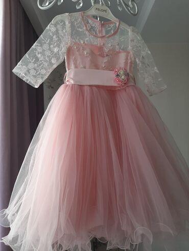 нарядные платья на свадьбу в Кыргызстан: Нарядное платье на девочку 6 лет, производство Турция