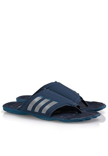Shop adidas blue Adipure Slide 2   разм 39. 40. 42. 43. 46 есть