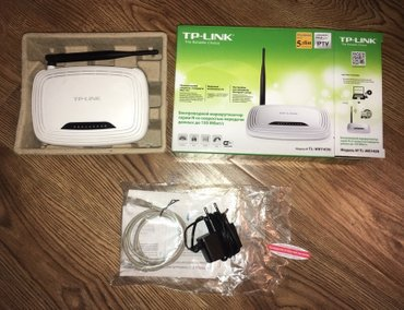 Wi-Fi роутер TP-Link.  В отличном рабочем и физическом состоянии! в Бишкек