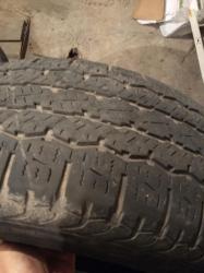 шины 265 65 r17 в Кыргызстан: Продаю комплект резины Dunlop. бу 265.65 r17 лето
