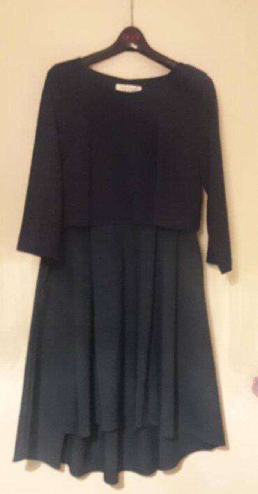 Платье вечернее новое (Турция) р.46-48 цвет зеленый, верх с блеском