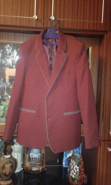 Пиджак школьный - Кыргызстан: Продаю школьный пиджак 42-размера, в хорошем состоянии