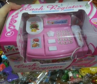 Xırdalan şəhərində Oyuncaq kassa market bakida oyuncaq magazasi aparati seslidir
