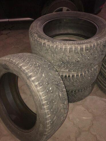 renault r20 в Кыргызстан: Продаётся комплект зимних-шипованных шин, R20