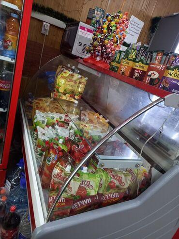 витринный холодильник купить в Кыргызстан: Б/у Холодильник-витрина Красный холодильник Venus