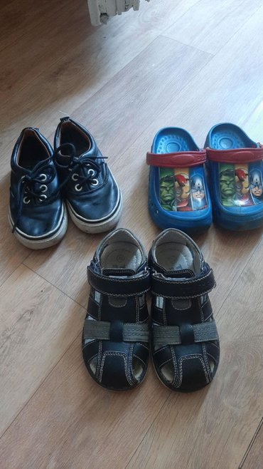 Обувь б/у в хорошем состоянии сандалии кожаные, все 26 размера
