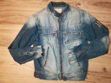 Teksas jakna muška vel M, može da bude i unisex jako dobar retro model