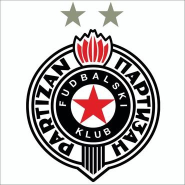 Partizan kacket - Srbija: Partizan tapeta 100x100