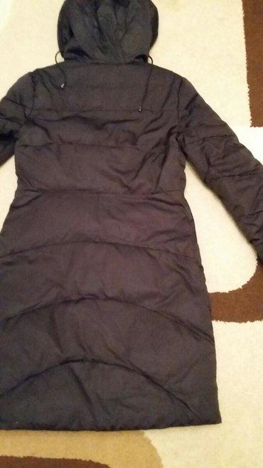 Пуховик женский,44 размер, цвет черный (фото искажает цвет)длинна до
