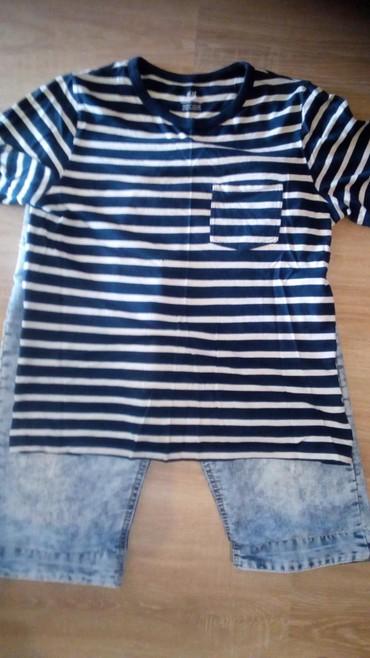 Dečija odeća i obuća - Zitorađa: Teksas pantalonice i majce za decaks kao novo majce su h&m i kao n